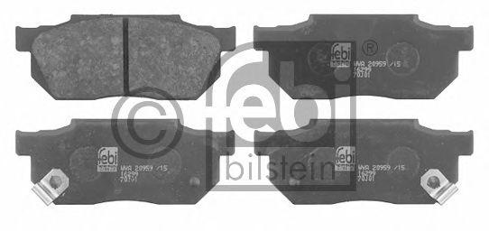 Тормозные колодки FEBI BILSTEIN 16299