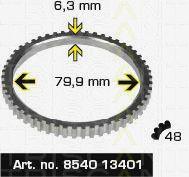 Сигнальный диск АБС TRISCAN 8540 13401
