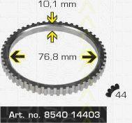 Сигнальный диск АБС TRISCAN 8540 14403