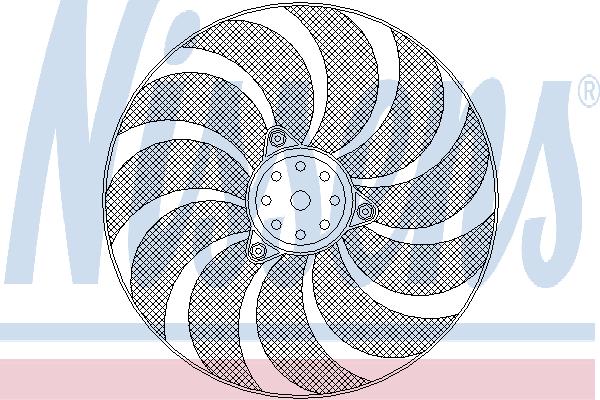 Вентилятор охлаждения NISSENS 85619