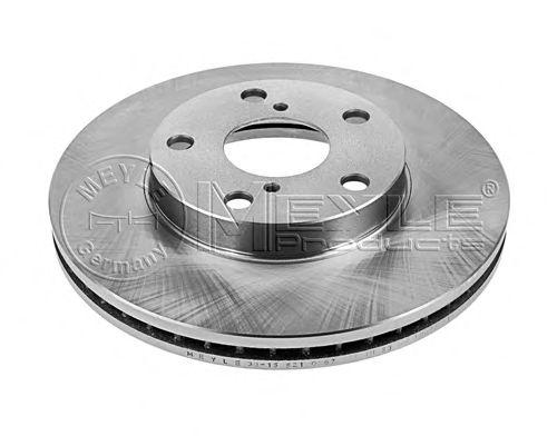 Тормозной диск MEYLE 30-15 521 0067