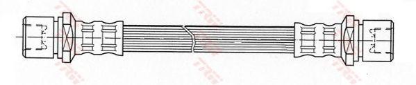 Тормозной шланг TRW PHA403