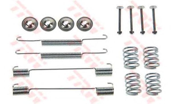 Монтажный комплект тормозных колодок TRW SFK245