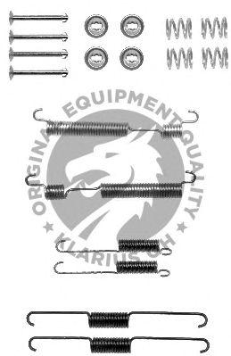Монтажный комплект тормозных колодок QH International BFK459
