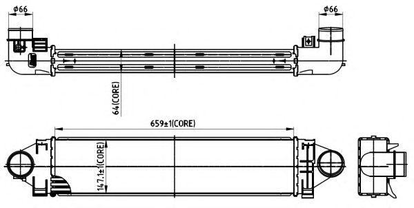 Интеркулер NRF 30304