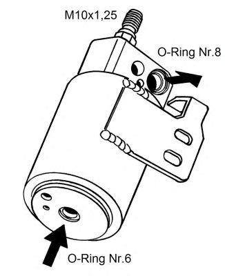 Осушитель кондиционера NRF 33129