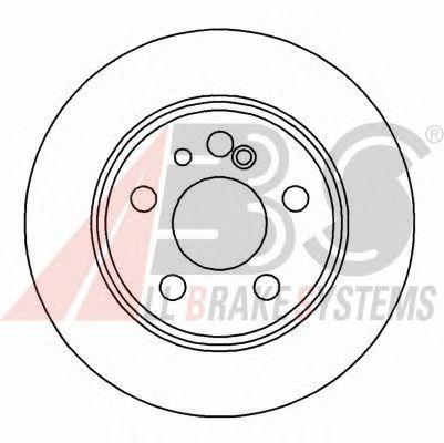 Тормозной диск A.B.S. 16112