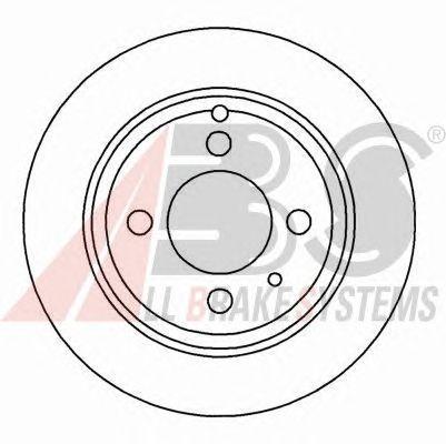 Тормозной диск A.B.S. 16221