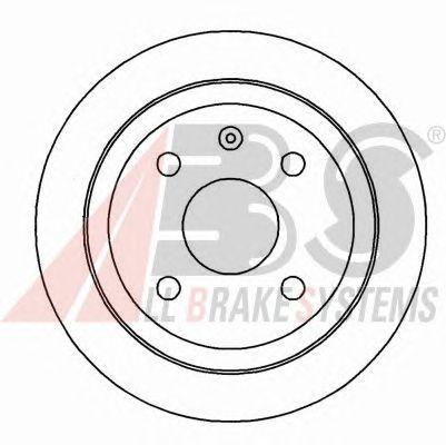 Тормозной диск A.B.S. 16928