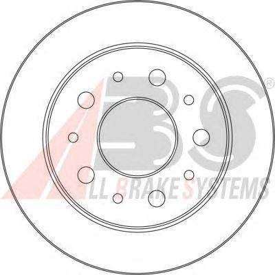 Тормозной диск A.B.S. 17462