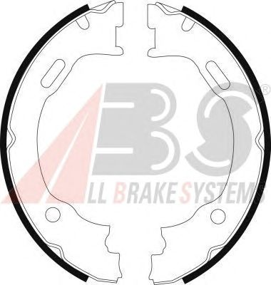 Тормозные колодки ручника A.B.S. 9142