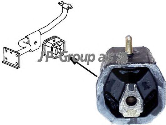 Подушка двигателя JP GROUP 1117902900