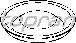 Крышка, выжимной подшипник TOPRAN 100 068