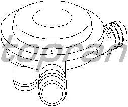 Клапан вентиляции картера TOPRAN 113 330