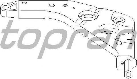 Рычаг подвески TOPRAN 501 062
