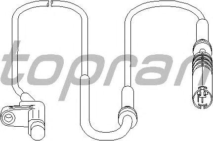 Датчик вращения колеса TOPRAN 501 233