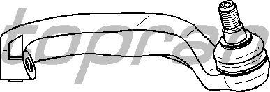 Наконечник рулевой тяги TOPRAN 401 824