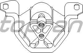 Подушка двигателя TOPRAN 201 390