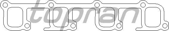 Прокладка впускного коллектора TOPRAN 203 858