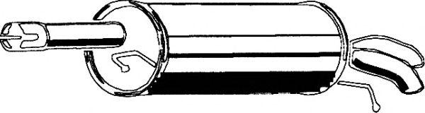 Глушитель ASMET 04.076