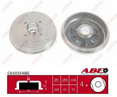 Тормозной барабан ABE C61032ABE