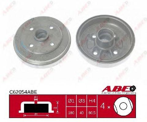 Тормозной барабан ABE C62054ABE