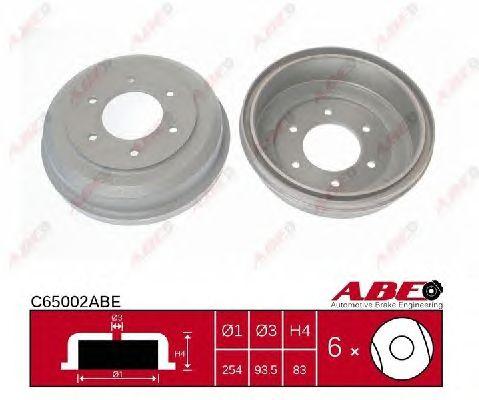 Тормозной барабан ABE C65002ABE