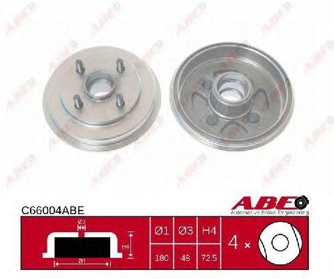 Тормозной барабан ABE C66004ABE