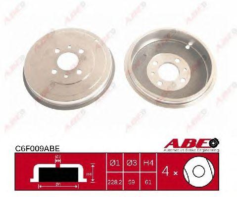 Тормозной барабан ABE C6F009ABE