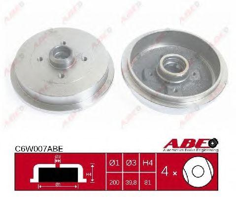 Тормозной барабан ABE C6W007ABE