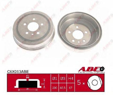 Тормозной барабан ABE C6X013ABE