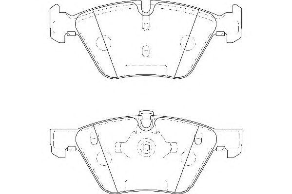 Тормозные колодки WAGNER WBP23794A