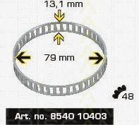 Сигнальный диск АБС TRISCAN 8540 10403
