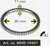 Сигнальный диск АБС TRISCAN 8540 15401