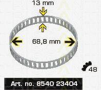 Сигнальный диск АБС TRISCAN 8540 23404