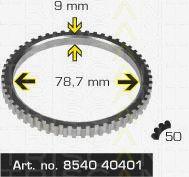 Сигнальный диск АБС TRISCAN 8540 40401