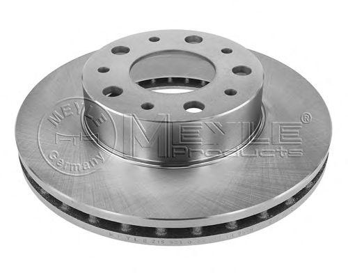 Тормозной диск MEYLE 215 521 0029