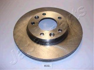 Тормозной диск JAPANPARTS DI-K02