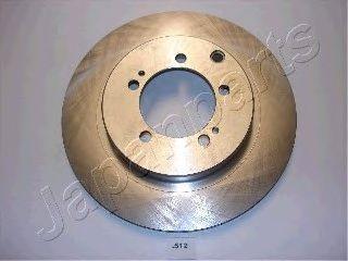 Тормозной диск JAPANPARTS DP-512