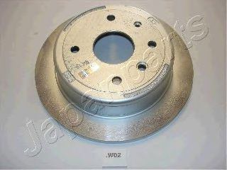 Тормозной диск JAPANPARTS DP-W02