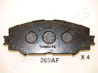 Тормозные колодки JAPANPARTS PA-269AF