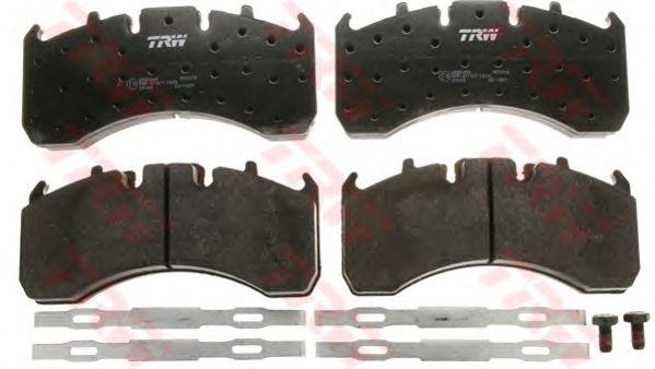 Тормозные колодки TRW GDB5098