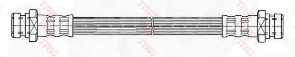 Тормозной шланг TRW PHA362