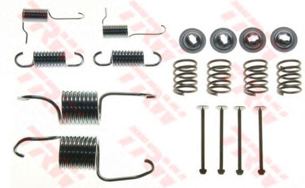 Монтажный комплект тормозных колодок TRW SFK206