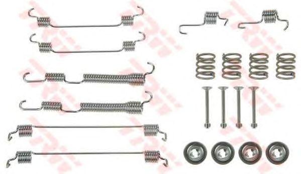 Монтажный комплект тормозных колодок TRW SFK320