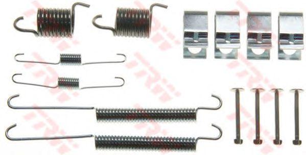 Монтажный комплект тормозных колодок TRW SFK377