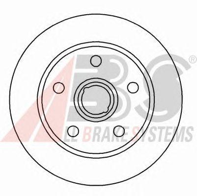 Тормозной диск A.B.S. 15826