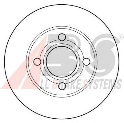Тормозной диск A.B.S. 16096