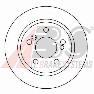 Тормозной диск A.B.S. 16108