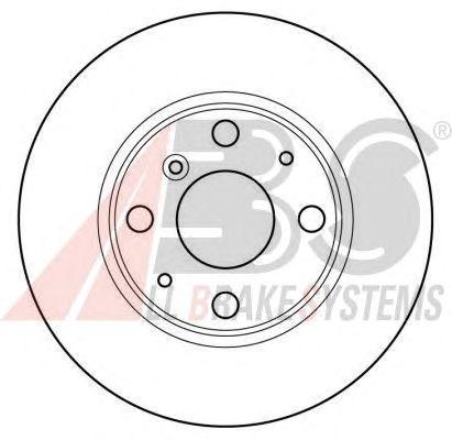 Тормозной диск A.B.S. 16169